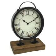 Aspire Franklin Industrial Table Clock