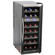 Whynter 21 Bottle Dual Zone Freestanding Wine Refrigerator