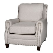 Opulence Home Bradford II Linen Arm Chair