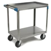 Carlisle Sanitary Maintenance Products 2 Shelf Utility Cart
