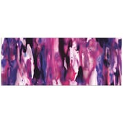 Metal Art Studio 'Watercolor Composition Purple' Painting Print on Metal