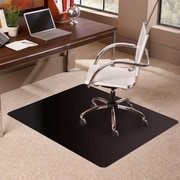 ES Robbins TrendSetter Rectangle Low Pile Carpet Straight Edge Chair Mat