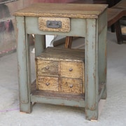 ZallZo Handmade Workers End Table