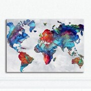 Metal Art Studio  The Beauty of Color V2.3  by Megan Duncanson Painting Print Plaque