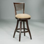 Impacterra Grand Vista 30'' Swivel Bar Stool with Cushion