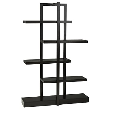 Brassex 11430 5-Tier Display Shelf, 47 x 13 x 70, Dark Cherry