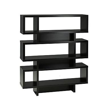 Brassex 29258 3-Tier Display Shelf, 44 x 12 x 53, Black