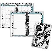 "2016 AT-A-GLANCE® Madrid Customizable Cover Weekly/Monthly Appointment Book Planner, 4 7/8"" x 8"", Design, (793-201-16)"