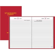 "2016 AT-A-GLANCE Standard Diary Daily Reminder, 5 3/4""W x 8 1/4""H, Red (SD389-13)"