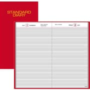 "2016 AT-A-GLANCE® Standard Diary® Daily Diary, 7 11/16'' x 12 1/8"", Red, (SD376-13)"