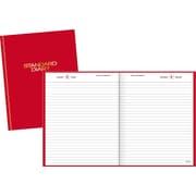 "2016 AT-A-GLANCE® Standard Diary® Daily Diary, 7 1/2'' x 9 7/16"", Red, (SD374-13)"
