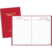 "2016 AT-A-GLANCE® Standard Diary® Daily Reminder, 5''W x 7 1/2""H, Red (SD387-13)"