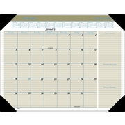 "2016 AT-A-GLANCE® Executive Desk Pad, 22'' x 17"", Tan, (HT1500)"