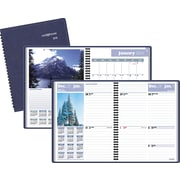"""2016 DayMinder® Scenic Weekly/Monthly Planner, 8 1/4'' x 10 7/8"""", Blue, (G700-17)"""