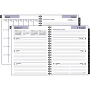 "2016 DayMinder® Executive Weekly/Monthly Refill, 6 7/8"" x 8 3/4"", , (G545-50)"