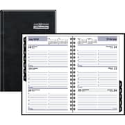 "2016 DayMinder® Weekly Appointment Book Planner, 4 7/8'' x 8"", Black, (G210H-00)"