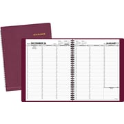 "2016 AT-A-GLANCE® Weekly Appointment Book Planner, 8 1/4"" x 10 7/8"", Winestone, (70-950-50)"