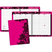 "2016 AT-A-GLANCE® Madonna Lace Weekly/Monthly Appointment Book Planner, 8 1/2"" x 11"", Design, (530-905-16)"