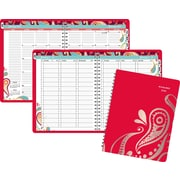 "2016 AT-A-GLANCE® Playful Paisley Weekly/Monthly Appointment Book Planner, 8 1/2"" x 11"", Design, (952P-905-16)"