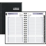 "2016 DayMinder® Daily Appointment Book Planner, 4 7/8"" x 8"", Black, (G100H-00)"
