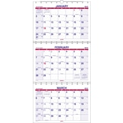"2016 AT-A-GLANCE® Move-A-Page Three-Month Wall Calendar, 12"" x 26 1/2"", White, (PMLF11-28-16)"