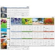 "2016 AT-A-GLANCE® ""Seasons In Bloom"" Vertical/Horizontal Erasable Wall Planner, 36"" x 24"", Design, (PA133)"