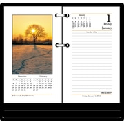 "2016 AT-A-GLANCE® Photographic Desk Calendar Refill, 3 1/2"" x 6"", Design, (E417-50)"