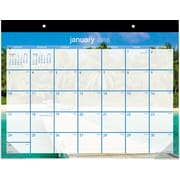 "2016 AT-A-GLANCE® Tropical Escape Desk Pad, 22"" x 17"", Design, (DMDTE2-32)"