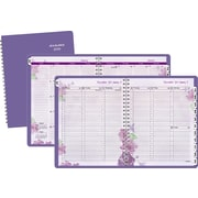 "AT-A-GLANCE® 2016 Beautiful Day Weekly/Monthly Appointment Book Planner, Purple, (938P-905-16), 8 1/2"" x 11"""