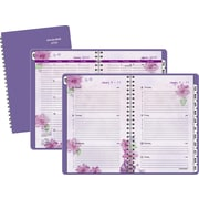 "2016 AT-A-GLANCE® Beautiful Day Desk Weekly/Monthly Appointment Book Planner, 5 1/2"" x 8 1/2"", Purple, (938P-200-16)"
