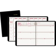 "2016 AT-A-GLANCE® Weekly/Monthly Appointment Book Planner, 6 7/8"" x 8 3/4"", Black, (70-650-05)"