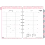 "2016 Day-Timer® Monthly Pink Ribbon Refill Value Pack, Size 4, 5 1/2"" x 8 1/2"", White/Pink, (14235-1601)"