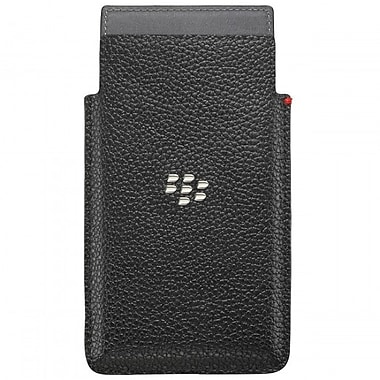 BlackBerry Leap Leather Pocket Phone Case, Black