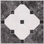 Home Dynamix Dynamix Vinyl Tile 12'' x 12'' Luxury Vinyl Tiles in Madison Stone