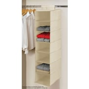 Linen Depot Direct Beige 7 Tier Hanging Shelf