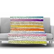 KESS InHouse Dash 3 by Sreetama Ray Fleece Throw Blanket; 80'' H x 60'' W x 1'' D