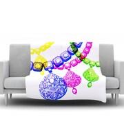 KESS InHouse Precious by Sreetama Ray Fleece Throw Blanket; 40'' H x 30'' W x 1'' D