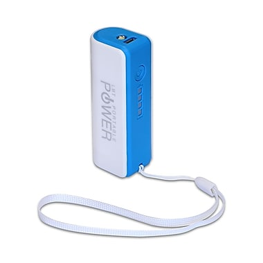 LBT Portable Power Charger, White & Blue