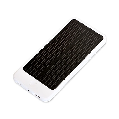 LBT Universal Solar Powered Power Bank, White