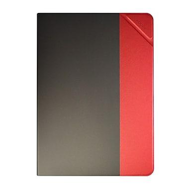 Logiix – Étui Chromia pour iPad Air 2, charbon/rouge