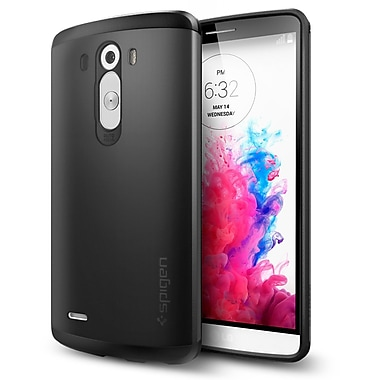Spigen Slim Armor Case for Lg G3, Smooth Black