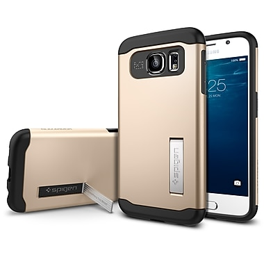 Spigen Slim Armor Case for Samsung Galaxy S6, Champagne Gold