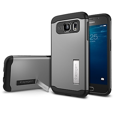 Spigen Slim Armor Case for Samsung Galaxy S6, Gunmetal