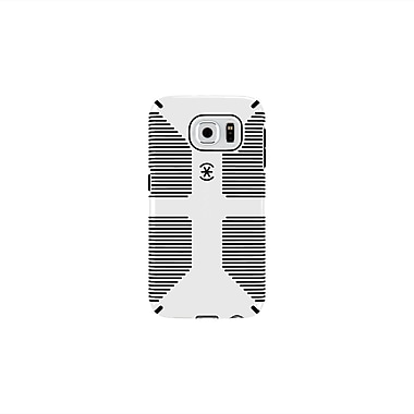 Speck – Étui Candyshell Grip pour Galaxy S6, blanc et noir
