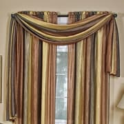 Achim Importing Co Ombre Valance Scarf; Chocolate