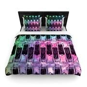 KESS InHouse ''Paint Tubes II'' Woven Comforter Duvet Cover; King