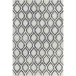 Chandra Clara Patterned Contemporary White Area Rug; 7'9'' x 10'6''