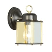 Livex Lighting Outdoor Basics 1 Light Wall Lantern