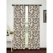 Popular Bath Products Alexandra Curtain Panel (Set of 2); Beige/Taupe