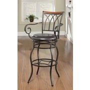 Wildon Home   Hackberry 29'' Swivel Bar Stool with Cushion